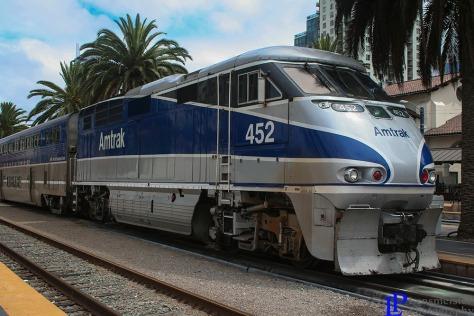 452 at Santa Fe Depot San Diego, California
